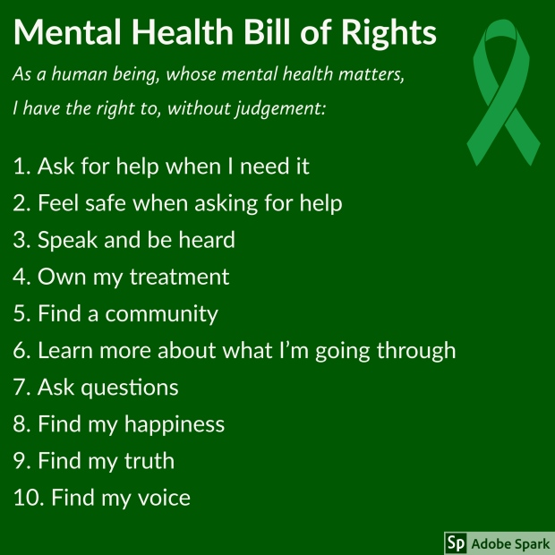 MH Bill of Rights